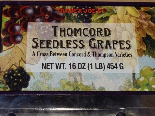 Thomcord Seedless Grapes
