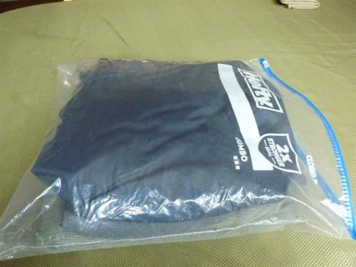 Jumbo Hefty bag with clothes