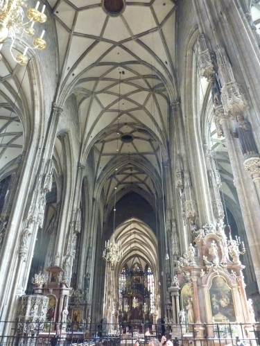 Interior of St. Stephan's Cathedral