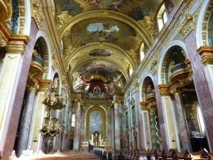 Interior of Jesuit Church