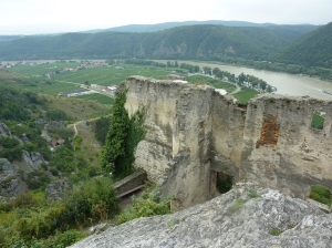 View from Castle Durnstein