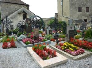 Cemetery in Durnstein