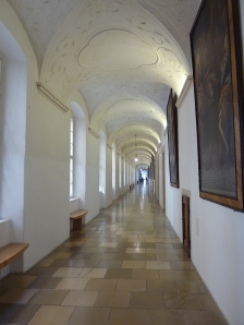 Imperial Corridor at Melk Abbey