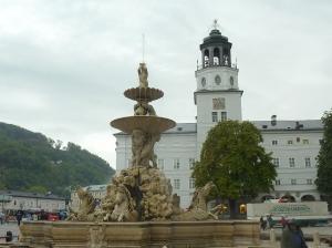 Fountain in Residenzplatz