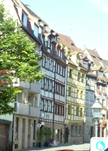 Weissgerbergasse with half-timbered buildings