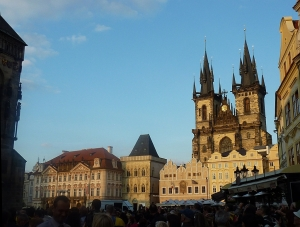 Kinsky Palace and Our Lady Before Tyn Church
