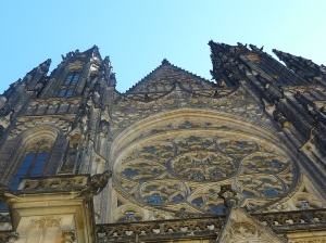 Rose window of St. Vitus Cathedral