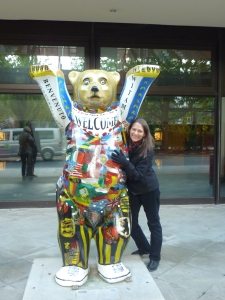 Cheryl and the Berlin Bear