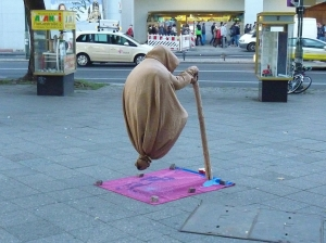Street performer, Berlin