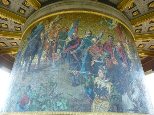 Mosaic on the Victory Column