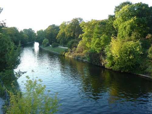 River along the Tiergarten