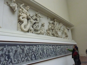Pergamon courtyard frieze