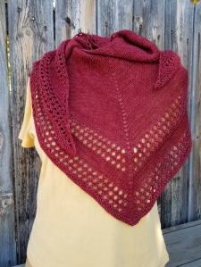 Light and Up Shawl